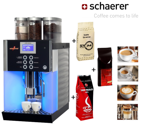 Schaerer Coffee Factory mieten