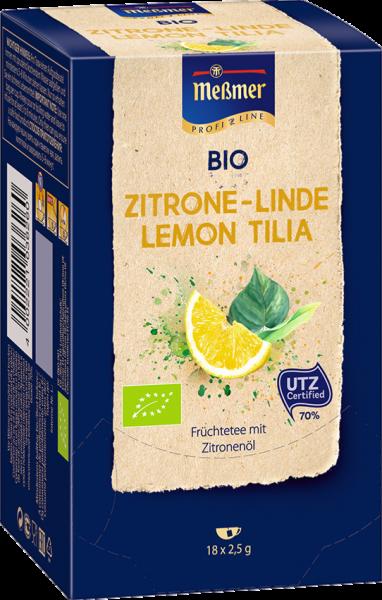 Meßmer Bio-Tee, Messmer Bio-Tee Zitrone-Linde 105238