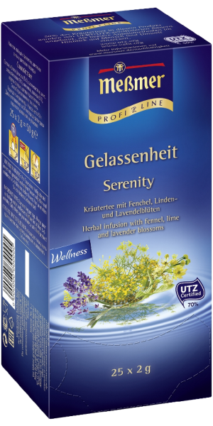 Meßmer Tee, Messmer Wellness-Tee Gelassenheit