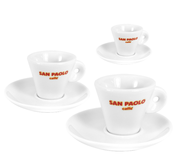 Espressotasse San Paolo inkl. Untere