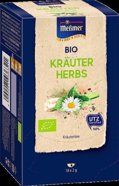 Meßmer Bio-Tee, Messmer Bio-Tee Kräuter 105241