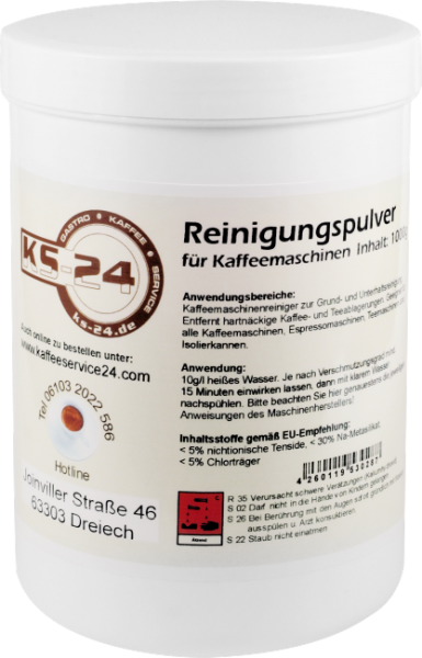 KS-24 Kaffeefettlöser | Pulver (1kg)