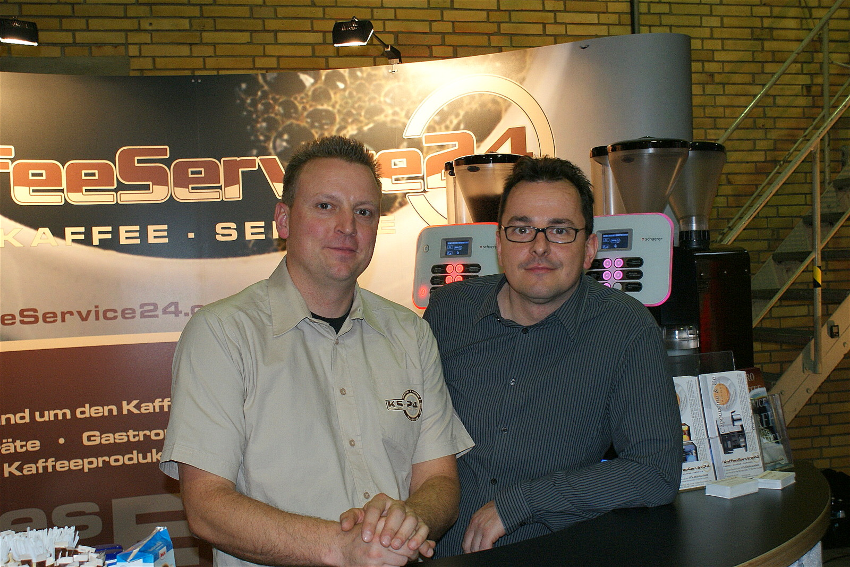 Andreas Röll und Mike Weichardt