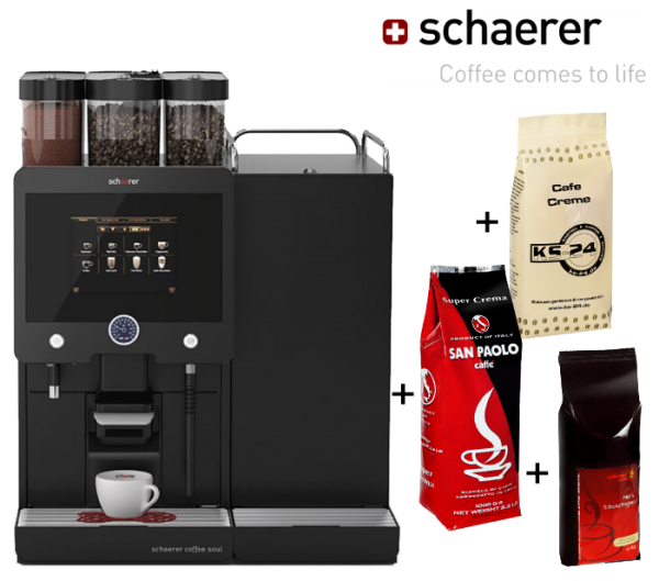 First Class 8 / Schaerer Coffee Soul | Miete +Verbrauchsmaterial