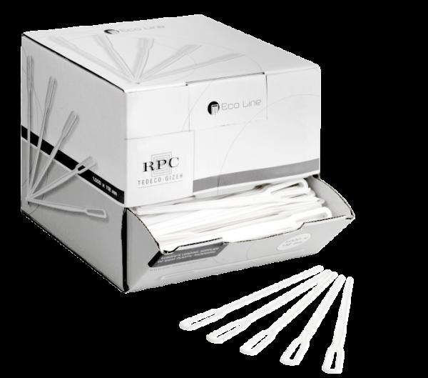 Rührstäbchen Spender-Box (1000 Stück)