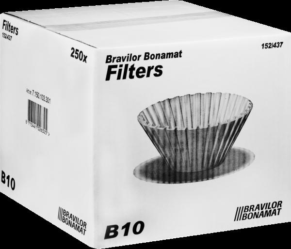 Bonamat Rundfiltertüten für die B10 (250 Stück)