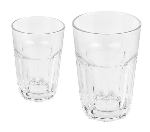 Latteglas neutral 0,36l