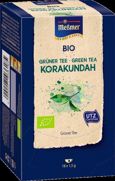 Meßmer Bio-Tee, Messmer Bio-Grüntee Korakundah