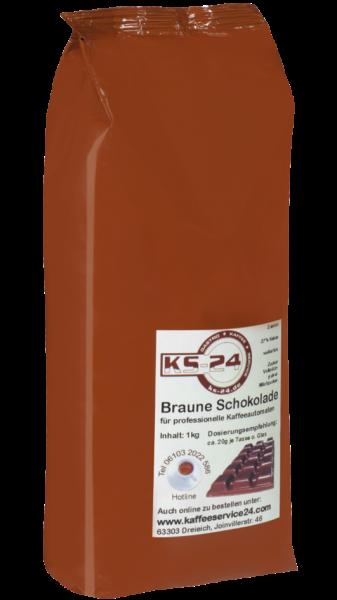 KS-24 Braune Milchschokoladenflocken (1000g)
