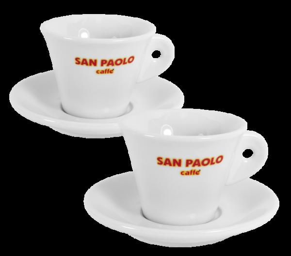 Kaffeetasse San Paolo inkl. Untere